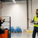 Training in warehouse operations